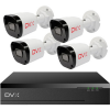 DVX IP Biztonsági kamera rendszer – 4 db, 2 Mpx felbontású kamera