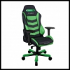 DXRacer OH/IS166/NE IRON Gaming Chair - fekete / zöld