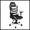DXRacer OH/IS166/NW IRON Gaming Chair - fekete / fehér