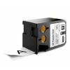 Dymo 1868754, 41mm x 7m, fekete nyomtatás / fehér alapon, eredeti szalag