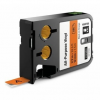 Dymo 1868766, 12mm x 7m, fekete nyomtatás / narancssárga alapon, eredeti szalag