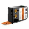 Dymo 1868768, 24mm x 7m, fekete nyomtatás / narancssárga alapon, eredeti szalag