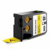 Dymo 1868773, 24mm x 7m, fekete nyomtatás / sárga alapon, eredeti szalag