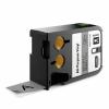 Dymo 1868803, 24mm x 7m, fekete nyomtatás / szürke alapon, eredeti szalag