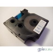 DYMO 45801 D1 átlátszó alapon kék 19mm * 7m feliratozószalag nyomtató kellék