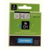 Dymo D1 40913, S0720680, 9 mm x 7 m, fekete nyomtatás / fehér alapon, eredeti szalag