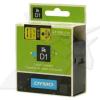 Dymo D1 53718, S0720980, 24 mm x 7 m, fekete nyomtatás / sárga alapon, eredeti szalag