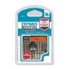 DYMO Feliratozógép szalag, 12 mm x 3 m, tartós, DYMO  D1 , narancssárga-fekete