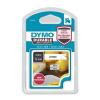 DYMO Feliratozógép szalag, 12 mm x 5,5 m, tartós, DYMO  D1 , fehér-fekete