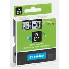 """DYMO Feliratozógép szalag, 12 mm x 7 m, DYMO """"D1"""", fekete-fehér nyomtató kellék"""