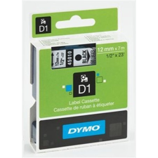 """DYMO Feliratozógép szalag, 12 mm x 7 m, DYMO """"D1"""", víztiszta-piros nyomtató kellék"""