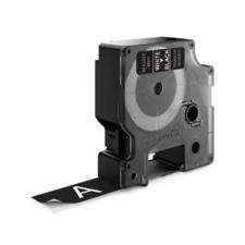 """DYMO Feliratozógép szalag, 19 mm x 7m  DYMO """"D1"""", fekete-fehér fénymásolópapír"""