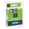 DYMO Feliratozógép szalag, 9 mm x 7 m, DYMO D1, sárga-fekete (GD40918)