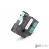DYMO Rhino 18440 9mm * 5.5m zöld alapon fekete vinyl PVC feliratozószalag kazetta