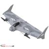 Eachine Mirage E500 500 mm-es szárnyfesztávolság Helyből felszálló EPP FPV RC Repülőgép FlyskyBNF