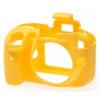 Easy Cover Szilikon Tok D3300, citromsárga