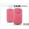 Eazy Case DECO SLIM univerzális bőrtok - Apple iPhone 5/5S/Nokia 225 - pink - 18. méret