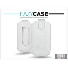 Eazy Case DECO SLIM univerzális bőrtok - Samsung i8160 Galaxy Ace 2/Sony Xperia E1/Huawei Ascend Y200 - fehér - 17. méret tok és táska