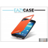 Eazy Case Samsung i9190 Galaxy S4 Mini View Cover flipes hátlap on/off funkcióval - EF-CI919BOEGSTD utángyártott - orange