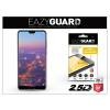 Eazyguard Huawei P20 Pro gyémántüveg képernyővédő fólia - Diamond Glass 2.5D Fullcover - fekete