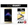 Eazyguard Huawei P9 Lite (2017) gyémántüveg képernyővédő fólia - Diamond Glass 2.5D Fullcover - gold
