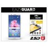 Eazyguard Huawei P Smart gyémántüveg képernyővédő fólia - Diamond Glass 2.5D Fullcover - fehér