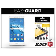 Eazyguard Huawei Y7/Y7 Prime gyémántüveg képernyővédő fólia - Diamond Glass 2.5D Fullcover - fehér tablet kellék