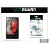 Eazyguard LG E430 Optimus L3 II képernyővédő fólia - 2 db/csomag (Crystal/Antireflex)