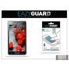 Eazyguard LG P710 Optimus L7 II képernyővédő fólia - 2 db/csomag (Crystal/Antireflex)