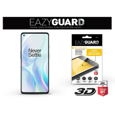 Eazyguard OnePlus 8 gyémántüveg képernyővédő fólia - Diamond Glass 3D Fullcover - fekete mobiltelefon kellék