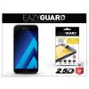 Eazyguard Samsung A320F Galaxy A3 (2017) gyémántüveg képernyővédő fólia - Diamond Glass 2.5D Fullcover - fekete