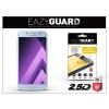 Eazyguard Samsung A320F Galaxy A3 (2017) gyémántüveg képernyővédő fólia - Diamond Glass 2.5D Fullcover - kék