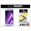 Eazyguard Samsung A520F Galaxy A5 (2017) gyémántüveg képernyővédő fólia - Diamond Glass 2.5D Fullcover - kék