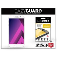 Eazyguard Samsung A720F Galaxy A7 (2017) gyémántüveg képernyővédő fólia - Diamond Glass 2.5D Fullcover - fehér tok és táska