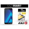 Eazyguard Samsung A720F Galaxy A7 (2017) gyémántüveg képernyővédő fólia - Diamond Glass 2.5D Fullcover - fekete