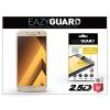 Eazyguard Samsung A720F Galaxy A7 (2017) gyémántüveg képernyővédő fólia - Diamond Glass 2.5D Fullcover - gold