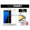 Eazyguard Samsung G935F Galaxy S7 Edge gyémántüveg képernyővédő fólia - 1 db/csomag (Diamond Glass) - silver - FULL teljes képernyős