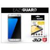 Eazyguard Samsung G935F Galaxy S7 Edge gyémántüveg képernyővédő fólia - Diamond Glass 3D Fullcover - ezüst