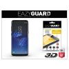 Eazyguard Samsung G950F Galaxy S8 gyémántüveg képernyővédő fólia - Diamond Glass 3D Fullcover - fekete