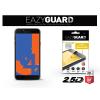 Eazyguard Samsung J400F Galaxy J4 (2018) gyémántüveg képernyővédő fólia - Diamond Glass 2.5D Fullcover - fekete
