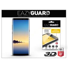 Eazyguard Samsung N950F Galaxy Note 8 gyémántüveg képernyővédő fólia - Diamond Glass 3D Fullcover - fekete tok és táska