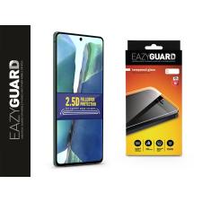 Eazyguard Samsung N980F Galaxy Note 20 gyémántüveg képernyővédő fólia - Diamond Glass 2.5D Fullcover - fekete mobiltelefon kellék