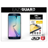 Eazyguard Samsung SM-G925 Galaxy S6 Edge gyémántüveg képernyővédő fólia - Diamond Glass 3D Fullcover - fekete