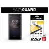 Eazyguard Sony Xperia XA2 (H3113/H3123/H3133/H4113/H4133) gyémántüveg képernyővédő fólia - Diamond Glass 2.5D Fullcover - fekete