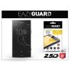 Eazyguard Sony Xperia XZ1 Compact (G8441) gyémántüveg képernyővédő fólia - Diamond Glass 2.5D Fullcover - fekete