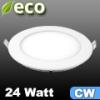 ECO LED panel (kör alakú) 24 Watt - hideg fehér fényű
