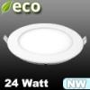 ECO LED panel (kör alakú) 24 Watt - természetes fehér fényű