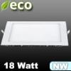 ECO LED panel (négyzet alakú) 18 Watt - természetes fehér
