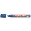 """EDDING """"360"""" 1,5-3 mm kúpos kék tábla- és flipchart marker"""