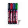 EDDING Alkoholos marker készlet, 1-5 mm, vágott, EDDING